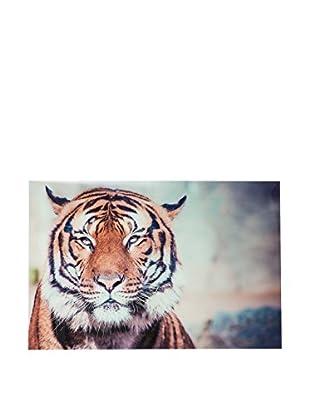J-LINE Wandbild Tiger