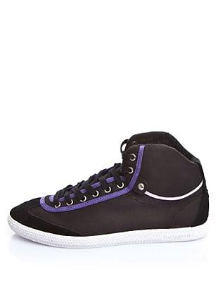 Le Coq Sportif High Top Sneaker (Schwarz/Violett)