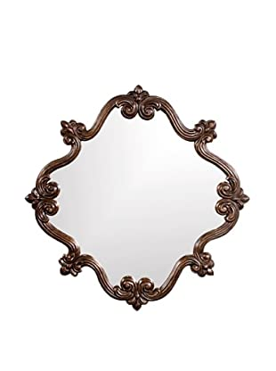 Oliver Mirror, Antique Copper