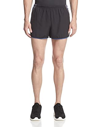 New Balance Men's 3-Inch Impact Split Shorts (Cobalt/Black)