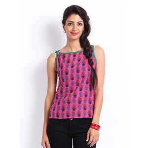 Shree Women Pink Printed Top