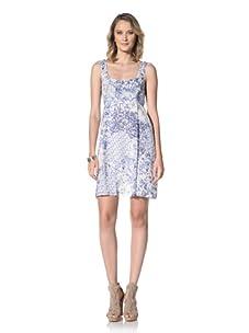 Paul & Joe Women's Rebelot Empire Waist Dress (Blue)