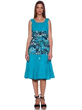 Bolero Ibiza Vestido Trikala (Azul)