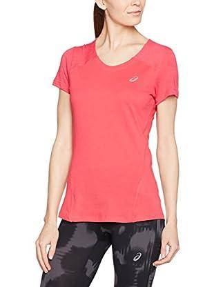 Asics T-Shirt Manica Corta Fuzex V-Neck