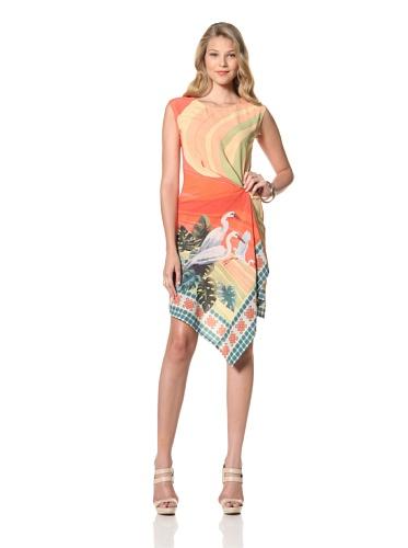 Eva Franco Women's Eden Sleeveless Printed Dress (St. Tropez)