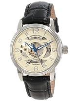 Stuhrling Original Women's 107EL.111531 Classic Delphi Stainless Steel Automatic Skeleton Black Watch