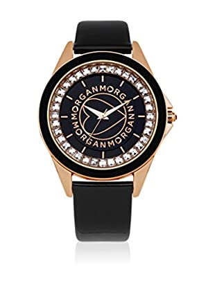 Morgan de Toi Orologio al Quarzo Woman M1035Rg Nero 40 mm