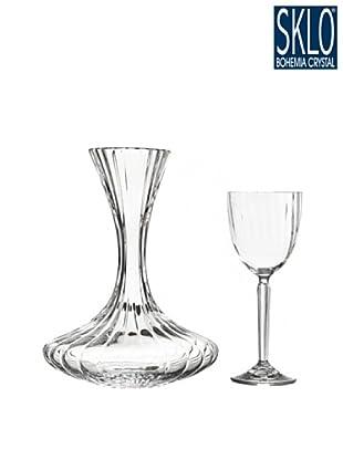 Cristal de Bohemia Juego 7 Piezas Rose Decanting Set