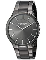 Kenneth Cole Slim Analog Grey Dial Men's Watch KC9109