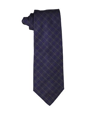 Valentino Men's Stitch Tie, Navy