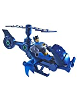Batman: The Brave And The Bold Attack Copter With Batman Figure