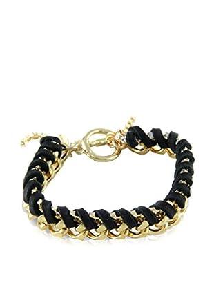 Ettika Black & 18K Gold-Plated Royal Voyage Bracelet