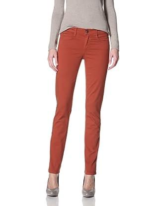 Domino Women's Jane Skinny Jean (Burnt orange)