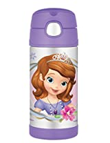 Thermos Funtainer Bottle Sofia the First (12 Ounce)