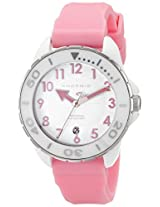 Android Women's AD512AWPK Exotic White Ceramic Pink Rubber Strap Watch