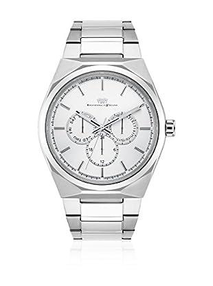 Rhodenwald & Söhne Reloj con movimiento cuarzo japonés  Blanco 42 mm