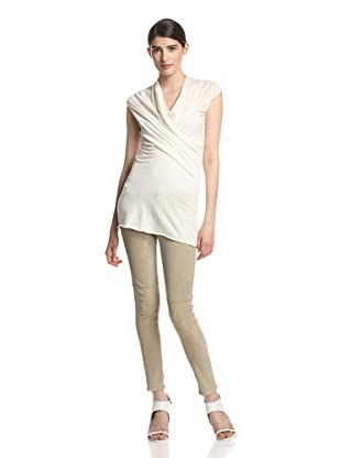 Rick Owens Lilies Women's Draped Top (Milk)