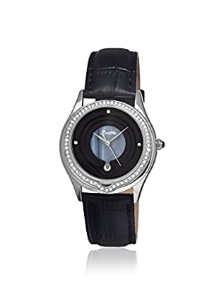 Bertha Women's BR4102 Patricia Black Leather Watch