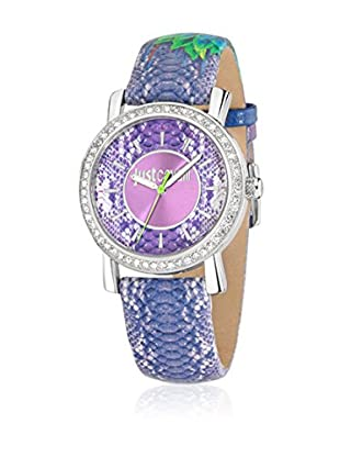 Just Cavalli Quarzuhr Woman Paradise violett 38 mm