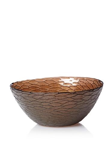 Calegaro Italy Python Bowl (Brown)