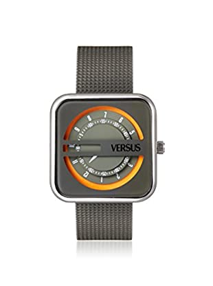Versus by Versace Women's SGH020013 Kyoto Grey Leather Watch