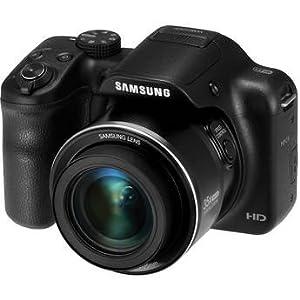 SamsungWB1100F Smart Digital Camera (Black)