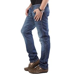 Wrangler Blue Regular Fit Men - Jeans