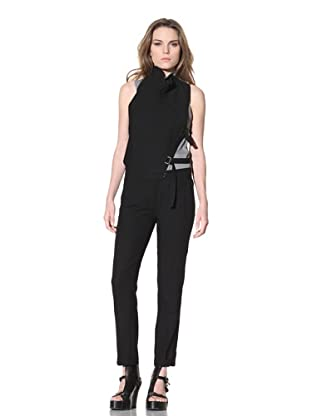 Ann Demeulemeester Women's Cropped Pant (Black)