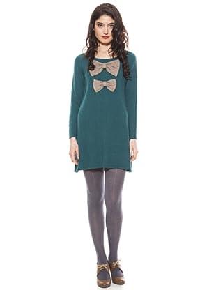 La Casita de Wendy Vestido Lazos (verde/gris)