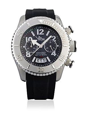 Vip Time Italy Uhr mit Japanischem Quarzuhrwerk VP8025BK_BK schwarz 43.00  mm