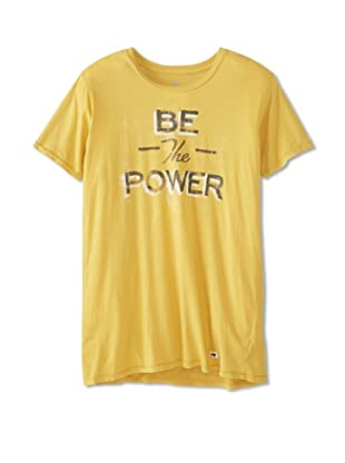 Thirty Nine Men's Be The Power T-Shirt (Yellow)