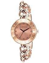 Giordano Analog Champagne Dial Women's Watch - 2755-66