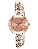 Giordano Analog Champagne Dial Women's Watch - 2755-66