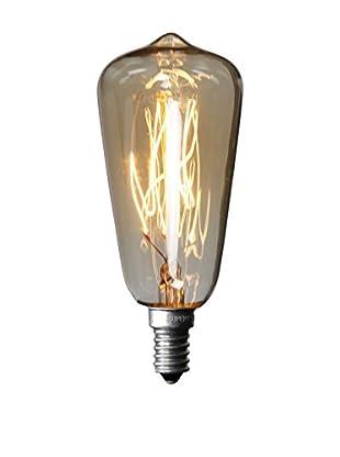 LO+DEMODA Bombilla Edison Vintage 7Clear St38 E14 40W Cristal transparente
