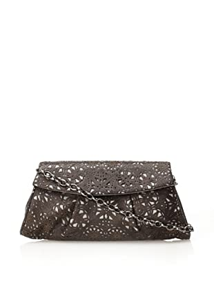 Inge Christopher Women's Charlotte Large Clutch (Black/Pewter)