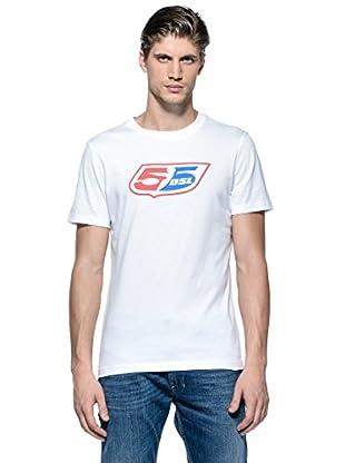 55Dsl Camiseta Logoclassic (Blanco)