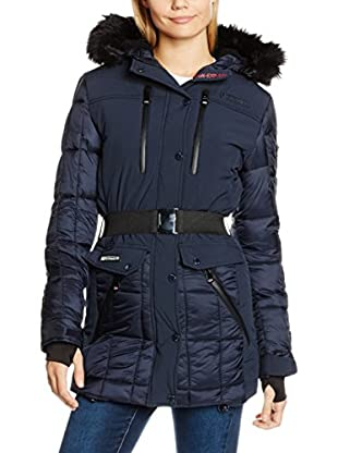 Geographical Norway Abrigo Doudoune Lady Navy