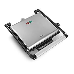 Sunflame Master SF-115 2000-Watt 4-Slice Grill Sandwich Maker (Black)