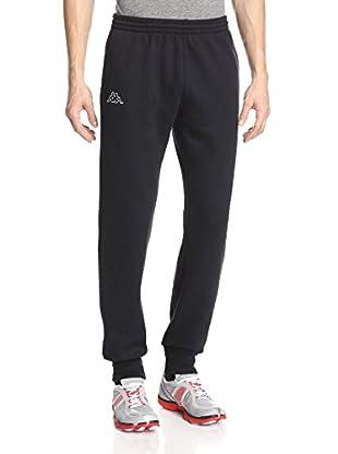 Kappa Men's Ribbed Cuff Fleece Slim Fit Pants