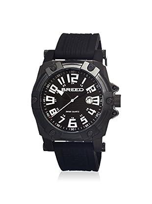 Breed Men's BRD2105 Bolt Black Silicone Watch