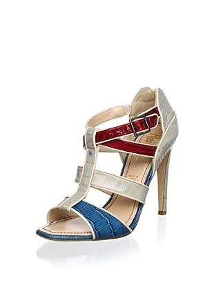 Jerome C. Rousseau Women's Dew Sandal (Multi Crocco)