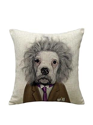 LO+DEMODA Funda De Cojín Einstein Dog 45 X 45 cm