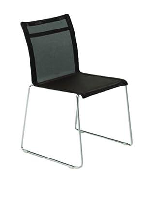 Control Brand Dynamic Side Chair, Black
