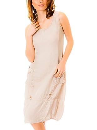 100% Linen Vestido Lino