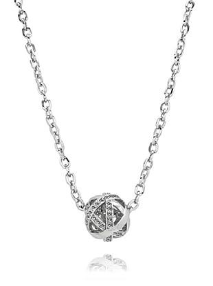 Saint Francis Crystals Halskette Made with Swarovski® Elements silberfarben