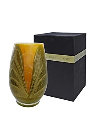 Northern Lights Candles Esque Harmony Candle & Floral Vase, Olive/Caramel