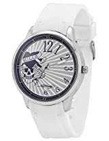 Ed Hardy Watches OMen s Men s Analog Watch - White