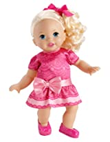 Little Mommy Pink Girl Doll