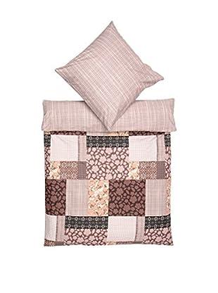 Clasy Bettdecke und Kissenbezug Patchwork