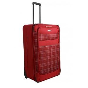 SAFARI - Yellow Stone 60 - Medium size -Trolley Red